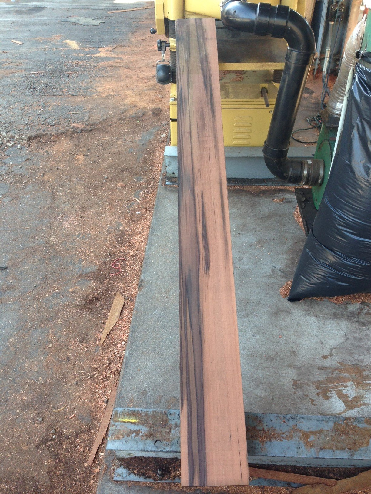 Milled reclaimed redwood lumber siding for Reclaimed wood decking